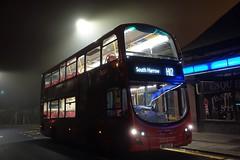 London Sovereign VH45109 (ShroudOfFrost) Tags: vh45109 vh9 bd13 ojc bd13ojc h12 london united ratp group sovereign stanmore bus wright gemini 2 b5lh hybrid