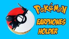 How to make an earphones holder - Pokemon Go Style T-Studio (yoanndesign) Tags: diy earphone earphonesholder holder howtomake pokémon pokemongo tstudio tutorial wearex