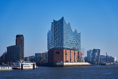 Elbphilharmonie, Hamburg (Boxun Zhang) Tags: sky travel hamburg port river architecture skyline sony sonyalpha urban