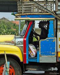 Truck driver (Jom Manilat) Tags: truck driver kanchanaburi running sugar cane factories outside city door