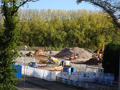 Sixth Form, Grange Road, Cwmbran 22 October 2018 (Cold War Warrior) Tags: school cwmbran construction plant