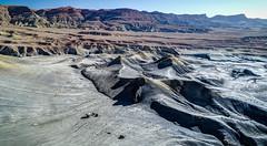DJI_0083_4_5_6_7hdr (Greg Meyer MD(H)) Tags: lakepowell arizona utah alstrompoint aerial drone moon rugged erosion view beauty landscape drama barren desert deserted