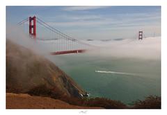 Cruising the Golden Gate (Max Angelsburger) Tags: vereinigtestaatenvonamerika unitedstatesofamerica usa visittheusa us westcoast california goldengatenationalrecreationareacalifornia september 2018 roadtrip goldengatebridgelookout ggb toll sf sanfrancisco boat curise coastline highway1 us101