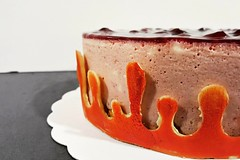 Bavarois framboise (Claire Coopmans) Tags: gateau cake bavarois framboise rasberry belgique belgium patisseries mousse