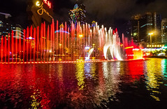 red burst (werner boehm *) Tags: wernerboehm china macao fountain reflection red