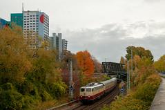 28-10-2018 - Berlin (Storkower Strasse) (berlinger) Tags: berlin deutschland storkowerstrasse eisenbahn railways railroad train sonderzug ake e101309 rheingold locomotive