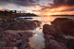 Roches Point Oct 2018 (paulflynn) Tags: seascape landscape coastal coast sky sun rocks waves light ireland cork carrigtwohill eastcork seascapephotography landscapephotography red redsky landscapephotographer leefilters aipf afiap rochespoint lighthouse