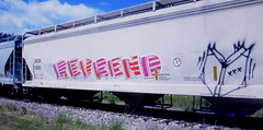 (timetomakethepasta) Tags: revrend freight train graffiti art read more booker bookman boans grainer hopper crdx xxx