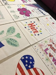 2018_T4T_DC United Leidos Event 13 (TAPSOrg) Tags: taps tragedyassistanceprogramforsurvivors teams4taps dcunited soccer mls leidos sponsor arlingtonva hq 2018 military indoor vertical detail closeup quilt drawing art