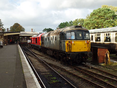 67028 & 33110 Bodmin General (Marky7890) Tags: 67028 class67 dbcargo 33110 class33 heritage diesellocomotive bodminwenfordrailway bodmin bodmingeneral cornwall train