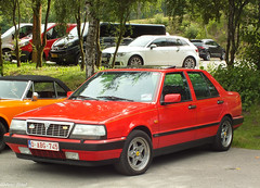 Lancia Thema 8.32 (peterolthof) Tags: spafrancorchamps peterolthof