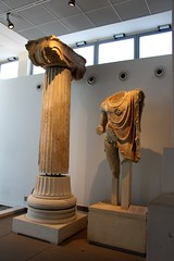 Archaeological Museum, Thessaloniki (demeeschter) Tags: greece thessaloniki macedonia city town building architecture museum tower archaeology historical heritage roman arch agora sea harbour people art restaurant shop street boat
