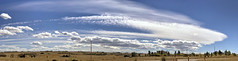 Cloudscape: Cirrus Standing Wave (northern_nights) Tags: cloudscape skyscape standingwavecloud cirrus cheyenne wyoming pano panorama
