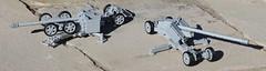 Dynamic Duo of Long Range Destruciton (Panzergrenadier Productions) Tags: lego ww2 pak 44 l55 anti tank gun panzerabwehrkanone 128mm krupp rheinmetall
