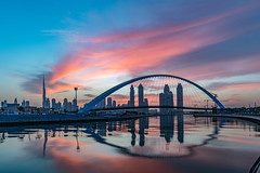 Colorful Sky (Fredrico_Baritta) Tags: dubai water canal watercanal sky colors landscape reflections d850 20mm