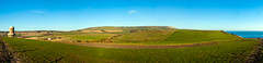Dorset countryside (Rui Nunеs) Tags: dorset countryside fields uk england purbeck isleofpurbeck panorama clavell tower sea
