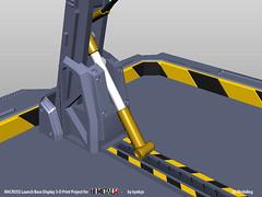 LaunchArmBase_04 (kyewans) Tags: macross himetalr display base launch arm 3d print