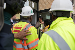 Mayor Bowser Visits Local Businesses During Neighborhood Walk in Ward 7