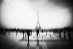 3298 (Elke Kulhawy) Tags: paris eifeltower monochrome blackandwhite art kunst surreal emotional
