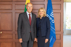 WIPO Director General Meets Lithuania's Minister of Culture (WIPO | OMPI) Tags: assemblies bilateralmeeting directorgeneral francisgurry lithuania ompi wipo