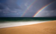 Rainbows at Makahoa Point (astr0chimp) Tags: hawaii green landscape 50shadesofgreen kauai