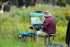 Painting, Inglewood Bird Sanctuary, Calgary (R-Gasman) Tags: travel painting inglewoodbirdsanctuary calgary alberta canada