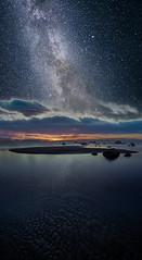 Milky Way (A.Kekkonen) Tags: milkyway nightscape night sea clouds longexposure stars beach