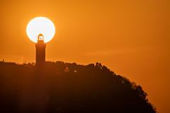 _OLY0095 (dadudawien) Tags: sonnenuntrgang ostsee penf leuchtturm niecorce