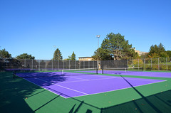 West Side Tennis Court (UWW University Housing) Tags: uww uwwhitewater uwwcampus residencehalls studentlife students movement nature social socializing lifestyle whitewaterwarhawks whitewaterwi studentinvolvement tennis court tenniscourt