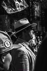 IMG_8788 (KitsuneUK) Tags: london protest tommy robinson photo photojournalism journalism canon bnw bw black adobe film