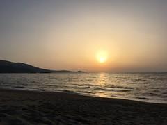 Couche du soleil (reflexer) Tags: plage beach strand coast küste france frankreich corse korsika wasser water ocean mediterranean mittelmeer meer sea sun sunset couchedusoleil soleil sonnenuntergang sonne