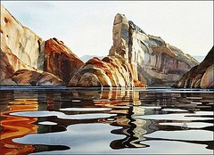 Watercolor Painting By David Drummond, Silent Waters (katalaynet) Tags: follow happy me fun photooftheday beautiful love friends