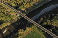 Thurbrücke Andelfingen (simon_walser) Tags: thurbrücke railroad railroadbridge thur river wood trees weinland zürcherweinland dji djimavic mavic drone dronephotography