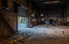 Abandoned mine Castlebridge Alloa Scotland