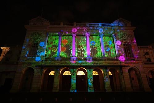 Fiesta de la Luz, Teatro Municipal, Santiago