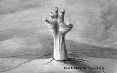 How to Draw a Zombie Hand in 3D - Halloween Special - Narrated (fineart-tips) Tags: art drawing finearttips zombie hand tutorial artistleonardo leonardopereznieto patreon tutto3 halloween 3d