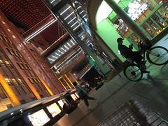 Night Colors on Nanjing Road (hinxlinx) Tags: nanjing road night color china bicycle street