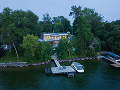 604 Cedarvale 26 (Michael Muraz Photography) Tags: 2018 barrie canada innisfil lakesimcoe lornerose lornerosearchitect northamerica on ontario world aerial aerialphotography architecture bluehour commercial cottage drone dronephotography dusk exterior house residential twilight