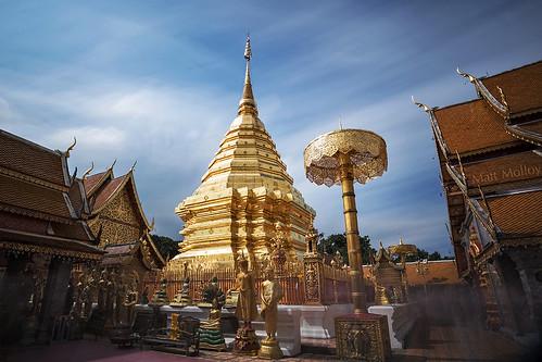 The Golden Home of Buddha's Bones