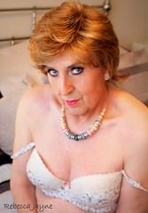 Do you like my necklace? (rebeccajaynegrey) Tags: crossdresser transvestite transgender crossdress cd tgirl tg crossdressing