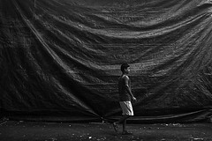 Untold stories (Rk Rao) Tags: bw blackandwhite untoldstories naturallight texture places human lines dramatic plasticcurtain monochrome people portrait fineart fineartphotography art artistic travel incredibleindia beauty design friends rkrao radhakrishnaraoartist rkclicks radhakrishnarao newdelhi delhi india