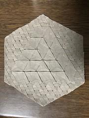 Designed by Alessandro Beber (kz_miu910) Tags: 摺紙 折纸 tessellation origamitessellation origami おりがみ 折り紙
