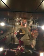 How Strange It Seems (BKHagar *Kim*) Tags: bkhagar elevator up down strange dr medical hospital mirror ceiling selfie sp mom dad sister tammy reflection reflections iphone