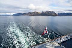 "View from Hurtigruten ""Kong Harald"" (harald.bohn) Tags: ship skip hurtigruta hurtigruten nordland norge norway coast coastliner"