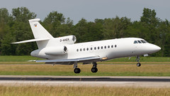 Dassault Falcon 900EX D-AHER Heron Luftfahrt (William Musculus) Tags: airport spotting dassault falcon 900ex daher heron luftfahrt aviation bsl mlh eap basel mulhouse euroairport freiburg lfsb hrn