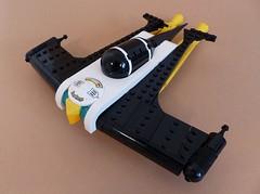 """BIRB"" Speeder (Tammo S.) Tags: lego moc speeder scifi retrofuturism raypunk retro space"