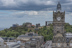 (Stratos28) Tags: landmark victorianhotel thebalmoralhotel princesstreet edinburgh scotland uk nikon d750 24120f4 caltonhill nationalmonument nelsonmonument oldobservatoryhouse dugaldstewartmonument panoramicview