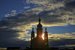 Orthodox Church (R. M. Marti) Tags: iglesia church night noche atardecer sunset cielo sky architecture building tower landscape dusk scenic