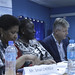 UN - AU high-level delegation met women peacekeepers in Juba
