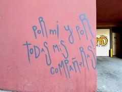 Callejeando, 2018 (Lola Palmeira) Tags: escrito pared calle street graffiti type typography tipografia letras frases amor mujer